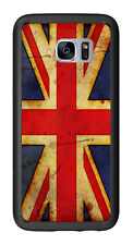 British  Flag Union Jack Grunge For Samsung Galaxy S7 Edge G935 Case Cover by At