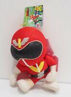 Himitsu Sentai Gorenger RED Banpresto Plush 1995 TAG Toy Doll Japan Power Ranger
