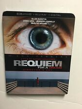 Requiem for a Dream (4K Uhd Blu-ray/Blu-ray, Digital Hd) New w/slipcover