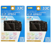 2 Packs JJC 9H Tempered Glass LCD Screen Protector FUJIFILM Fuji X-Pro2 XPro2