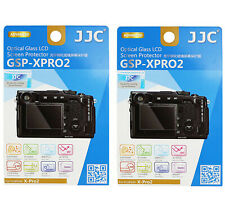 2 Packs JJC 9H Tempered Glass LCD Screen Protector FUJIFILM Fuji X-Pro2 XPro2
