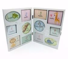 Rectangle My First Year Freestanding Photo & Picture Frames