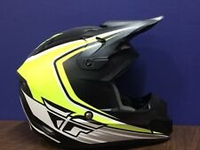 Fly Racing Kenetic Fullspeed Helmet Matte Black/Hi-Vis/White XX-Large