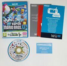 New Super Mario Bros. U + New Super Luigi U. Nintendo Wii U, Pal-Esp