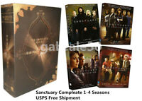Sanctuary:Seasons 1 2 3 4 (18 Discs,DVD Box Set) The Complete Series Region 1