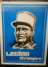 French Foreign Legion recruiting poster reproduction early 80s