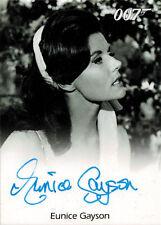 James Bond Archives 2014 Autograph Card Eunice Gayson as Sylvia Trench