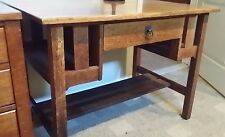 "Stickley Brothers, Mission Oak Desk Genuine Original ""Quaint"" c1904-1914"