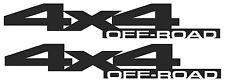 2010 - 2013 4x4 for Dodge Ram 2500 3500 Off Road Bedside Decals MATTE FLAT BLACK