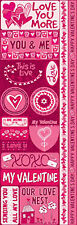 Reminisce ANYTHING FOR LOVE COMBO Cardstock Stickers scrapbooking VALENTINE