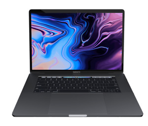 """Apple 2018 15"""" MacBook Pro 2.2GHz i7/16GB/256GB Flash/555X/Touch Bar/Space Gray"""