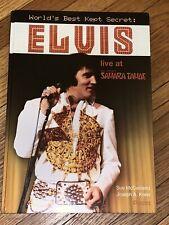 Elvis Presley: World's Best Kept Secret: Live at Sahara Tahoe (2008) Rare Book