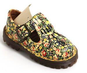 500 Kinderschuhe Blumen Leder Dr. Martens AirWair England Kids Sandale Floral 25