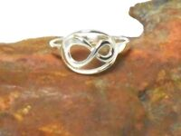 Sterling Silver 925 Infinity  RING -  Gift Boxed