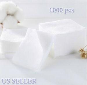 1000pcs Cotton Makeup Cotton Wipes Soft Remover Pads Facial Cleansing Convenient