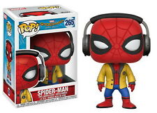 Funko Pop Marvel Spider-Man Homecoming with Headphones Collectible Vinyl Figure