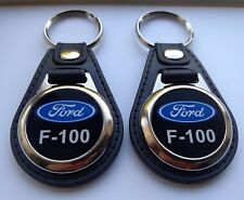 F-100  2 PACK OF Keychains black