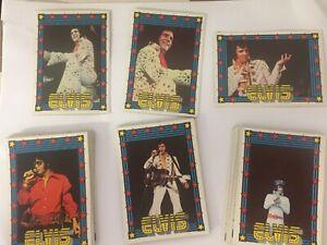 Elvis Presley  Complete Card Sets- 1978  Monty Gum (50), 1978 Donruss Elvis (66)