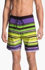 Billabong 'Iconic' Board Shorts Swim Shorts Size 32 Purple