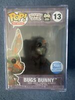 Looney Tunes Bugs Bunny Art Series Funko Shop Exclusive #13 Pre Order Hard Stack