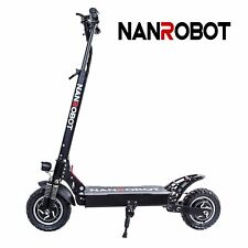 Nanrobot D4+2.0 Foldable Electric Scooter 2000W dual motor Power speed Us Ship