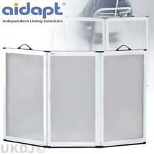 Aidapt Portascreen 3 Panel Shower Guard Portable Folding Flat Screen