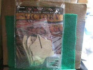 BUILD LORD NELSON`S HMS VICTORY (ISSUE 14 WITH PART) 1:84 SCALE NEW
