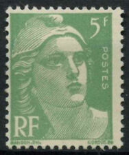 France 1947-51 SG#1004a 5f Yellow-Green Marianne MNH #D5114