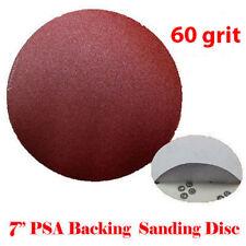 "10x 7"" 60 Grit Sanding Disc Paper Stick and Peel and Stick PSA Sander Abrasive"
