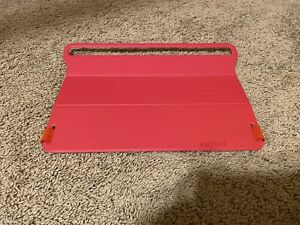 """Mogolo Kid Lid Protective Laptop Cover Red Fits Displays Up to 13.6"""" NEW"""