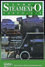 Steam Expo 1986 Vancouver BC DVD Pentrex Canada SP 4449 20 Locomotives Daylight