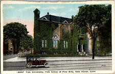 Yale University School of Fine Arts New Haven CT c1910s Vintage Postcard O18