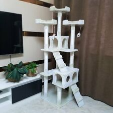 180cm Solid Kitten Cat Tree Tower Scratching Post Sisal Toy Activity Centre Toys