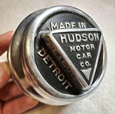 HUDSON Aluminum Screw-on Hub Cap Hubcap 1916-29? For Wood Wheels UNUSED