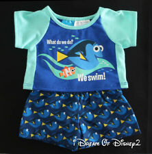 Build-A-Bear DISNEY 'FINDING DORY' TEE SHIRT TOP & TRUNKS Teddy Clothes Outfit