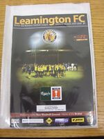 20/10/2007 Leamington v Banbury United [FA Trophy] . Thanks for viewing our item