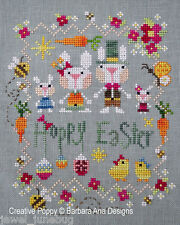 Barbara Ana Designs Counted X-stitch Chart - Hoppy Easter