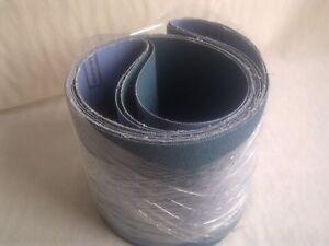 2 x 150mm x 1220mm Zirconium Abrasive Belt Various Grit Options- P40