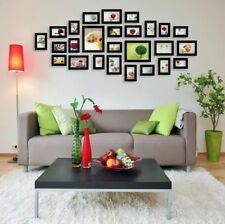 26 pcs Picture Photo Frame Set Wall Black Home Decor Art Colour Gift
