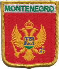 Montenegro Flag Embroidered Patch - LAST FEW