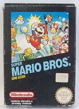 SUPER MARIO BROS  - juego de NES game jeu spiel  pal EN CAJA nintendo