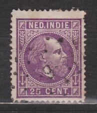 Nederlands Indie Netherlands Indies 13 F TOP CANCEL MAKASSAR (9) 1870
