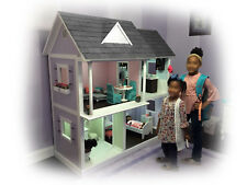 Dollhouse Plans for American Girl, Journey Girl and Our Generation size dolls