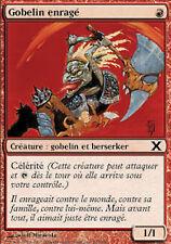 MRM French 4x Gobelin enragé (Raging Goblin) MTG magic Xeme