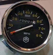 Vespa PX 125 150 200 P200e Mk1 80 MPH Speedo (1977-1983) 80mm Diameter