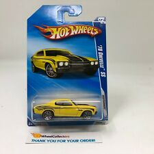 '70 Chevelle SS #90 * YELLOW * 2010 Hot Wheels * HH34