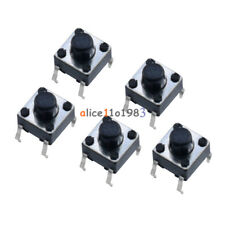 20pcs Miniature Micro Momentary Tactile Tact Touch Push Button Switch 6x6x6 Mm