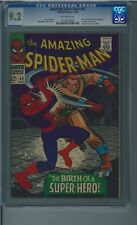Amazing Spider-Man Spiderman 42 11/66 CGC 9.2 NM- 1st Mary Jane Watson full face