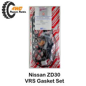 VRS Gasket Set for Nissan Navara D22 ZD30 4 Cyl DOHC Turbo Made in Japan 01-08