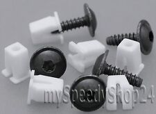 40 TeilenTorx TX25 Schrauben Spreizmutter Radhausschale Radkasten Clips AUDI VW